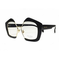 Miu Miu MU10NV Eyeglasses 52-16-145 Black 1AB1O1 MU 10NV For Women