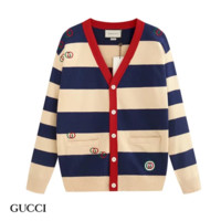 GUCCI New fashion embroidery letter long sleeve top coat cardigan