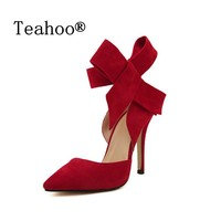 PLUS size High Heels Red Bottom Shoes Pumps black nude sexy women ladies Party Shoes Woman Fashion High Heel  Sapato Feminino