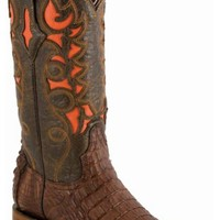 Lucchese Handcrafted 1883 Caiman Winnsboro Laser Inlay Cowgirl Boots - Sheplers