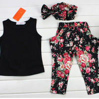 Girls Floral 3 Piece Outfit