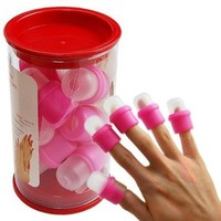 LanLan 10PC wearable nail art soakers Ongle acrylic removal