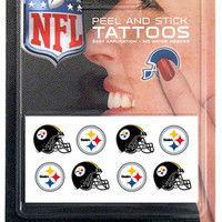 NFL Pittsburgh Steelers 8 Piece Temporary Tattoos