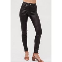 Uptown Faux Leather Pants