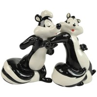 Westland Giftware Looney Tunes Magnetic Come to Me Salt and Pepper Shaker Set, 4-Inch