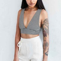 Cooperative Benny Double-V Cropped Top
