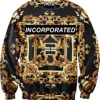Incorporated Gold Sweater