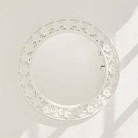 Keya Carved Floral Mirror | Urban Outfitters