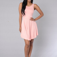 Backless Pleated Prom Dress