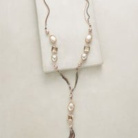 Jessamine Lariat Necklace by Anthropologie in Silver Size: One Size Necklaces