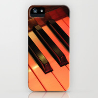 Spotlight on Piano iPhone Case by Ann Horn