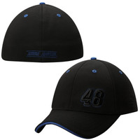 Jimmie Johnson Chase Authentics Varsity Unstructured Flex Hat - Black