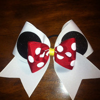 Minnie Mouse Cheer  Bow