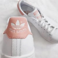 """""""stan smith"""" Fashion Shell-toe Flats Sneakers Sport Shoes Pink"""