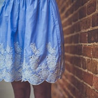 Taylor Skirt in Blue