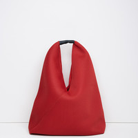 Mesh Triangle Bag by MM6 by Maison Martin Margiela