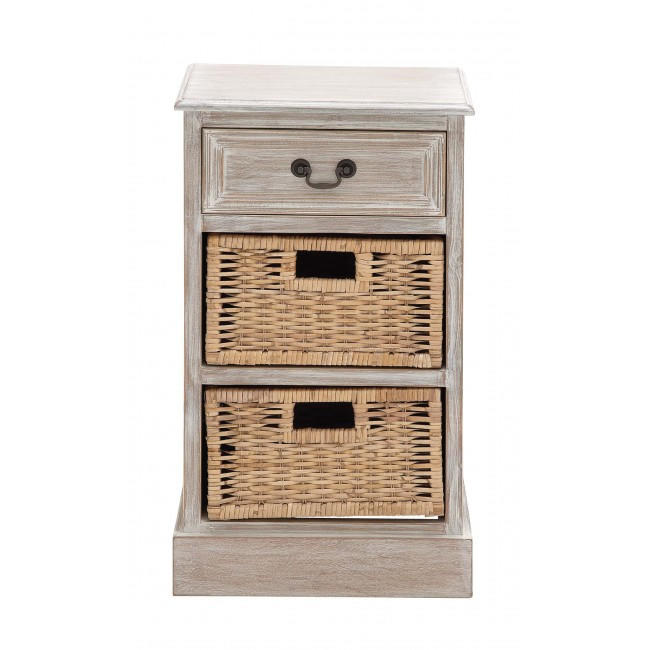 Image of Sun Bleached Double Basket Chest