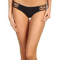 MIKOH SWIMWEAR Rockies Crochet Side Bikini Bottom Night - Zappos.com Free Shipping BOTH Ways