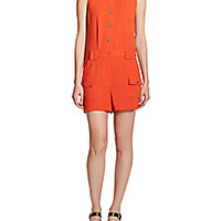 Marc by Marc Jacobs - Sleeveless Cargo Short Jumpsuit - Saks Fifth Avenue Mobile