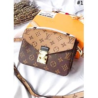 LV Tide brand classic presbyopia high quality female shoulder bag Messenger bag #1