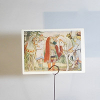 Vintage Vasnetsov The Song of Wise Oleg by RussianSoulVintage