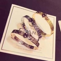 Day-First™ LV Woman Fashion Plated Bracelet
