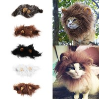 Lion Mane Dress Up Costume Muffler Scarf Cats Dogs
