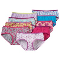 SONOMA life + style 9-pk. Print & Solid Hipster Panties - Girls