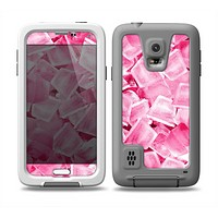 The Hot Pink Ice Cubes Skin for the Samsung Galaxy S5 frē LifeProof Case