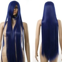 FENGSHANG Shoukiin Kagerou Party and Cospaly Long Wigs 39 Inches Blue