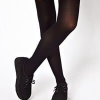 ASOS Tights With Over The Knee Mock Sock
