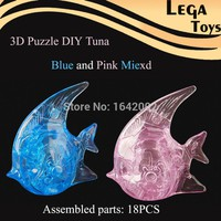 ,3D Crystal Puzzle Tuna fish