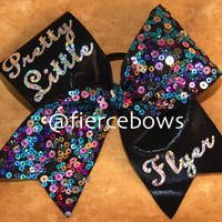 Pretty Little Flyer Cheer Bow