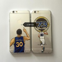 Golden State Warriors Stephen Curry phone case Cover for iPhone 5 5s se 7 6 6S Plus High quality tpu Phones Cases curry