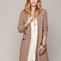 Free People Womens Buttermilk Biscuit Cardigan