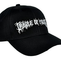 Cradle of Filth Hat Baseball Cap Extreme Metal Clothing