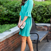 Dreaming OF The Day Dress, Green