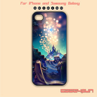 Disney,Tangled,Castle,iPhone 5 case, iPhone 5C Case, iPhone 5S , Phone case,iPhone 4 Case, iPhone 4S Case,Samsung Galaxy S3, S4