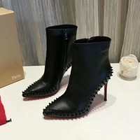 Christian Louboutin Women Fashion Casual High Heels Shoes-7