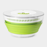 Collapsible Salad Spinner   MoMA