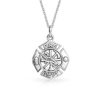Bling Jewelry Rescue Me Pendant