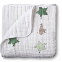 adamant ant Autumn newborn supplies  Aden baby gauze holds blankets thickening 100%Muslin cotton 2 layers with label