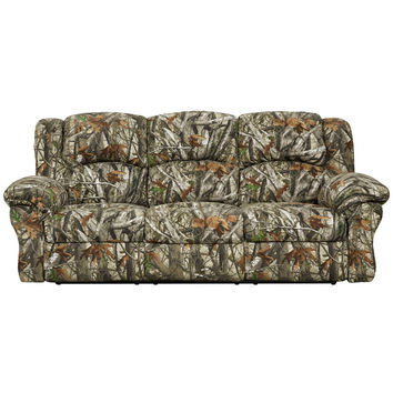 Exceptional Designs Next Camouflage Fabric Reclining Sofa