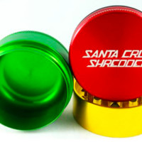 SANTA CRUZ SHREDDER 3 PIECE GRINDERS - SMALL