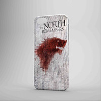 The North Remembers Game Of Thrones iPhone Case Galaxy Case 3D Case