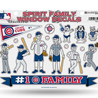 MLB Chicago Cubs Spirit Family Window Decals