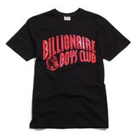 BB Arch T-Shirt Black / Red