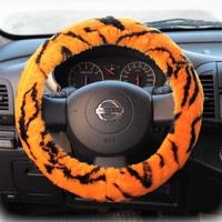 Steering wheel cover for wheel car accessories Tiger