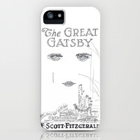 The Great Gatsby iPhone & iPod Case by S. L. Hurd