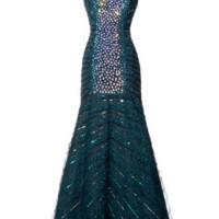 KC131505 Jeweled Prom Pageant Dress by Kari Chang Couture